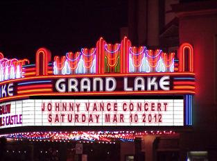 Johnny Vance at Grand Lake